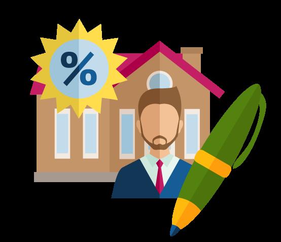 Local Mortgage Company Graphic