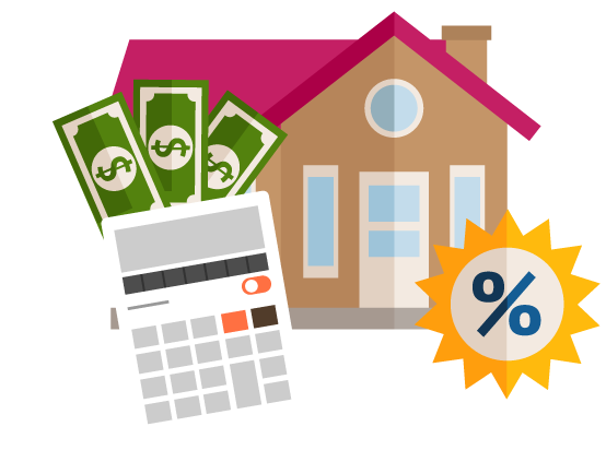 Mortgage Tools & Resources Clip Art Image